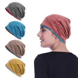 89b79dbc8c927 2018 Men Women Cycling Cap Outdoor Winter Warm Hat Reversible Knit Ski  Headgear Multifunction 3 In 1 Scarf Face Mask