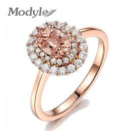 $enCountryForm.capitalKeyWord Australia - Vagzeb Yellow Crystal Rose Gold Color Ring Jewelry Crystals From Austria Full Sizes Wholesale