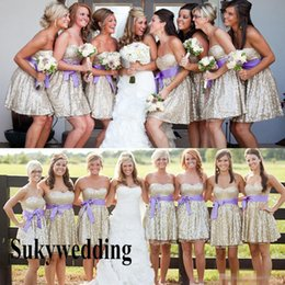 Strapless Yellow Bridesmaid Dresses with Cowboy Boots