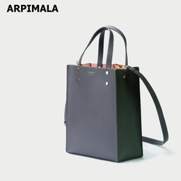 office lady handbags Australia - ARPIMALA Korean Tote Bag Office Lady Leather Work Handbags Big Hand Bags for Women 2019 Female City Bags Shopper