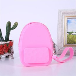 Earphone Zipper Yellow Australia - 1pc Fashion Style Silicone Candy Color Coin Purses Lovely Portable Coin Purse Earphones Pack Storage Bag For Women Girls