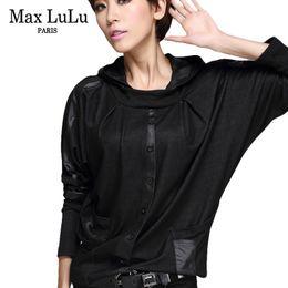 $enCountryForm.capitalKeyWord Australia - Max Lulu Luxury European Fashion Girls Casual Cropped Tops Tee Shirts Womens Hooded T-shirt Camisetas Mujer Woman Loose Tshirt S19715