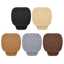 $enCountryForm.capitalKeyWord Australia - Anti-slip Car Seat Cover Winter Warm Seat Cushion Universal Front Chair Pad for Vehicle Auto Car Protector