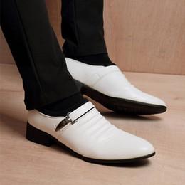 $enCountryForm.capitalKeyWord Australia - white wedding shoes for men short plush brown shoes men dress coiffeur men formal shoes leather sepatu slip on pria chaussure homme bona