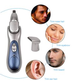 hair plugs Australia - KM-503 2 In 1 Nose Hair Trimmer Electric Trimmer Plug and Play Nose Hair Trimmer for Beauty