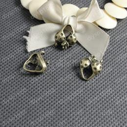 $enCountryForm.capitalKeyWord NZ - 50pcs 16*14MM Antique bronze tibetan bra bikini charms vintage metal pendants diy necklace bracelet earring jewelry making material
