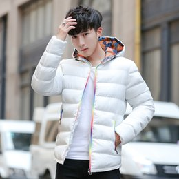 korean hip hop clothing Australia - Coat Student Winter Work Clothes Jacket Men Thick Warm Parka Windproof Outwear Streetwear Hip Hop Cotton-padded Korean Hoodies