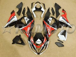 $enCountryForm.capitalKeyWord Canada - 4Gifts New Injection ABS motorcycle fairings kits fit for kawasaki Ninja ZX6R 636 2013-2016 ZX-6R 13 14 15 16 set custom black white red