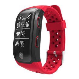 $enCountryForm.capitalKeyWord Australia - S908 Altitude Meter GPS Smart Bracelet Heart Rate Monitor Fitness Tracker Smart Watch IP68 Waterproof Wristwatch For iPhone Android Watch