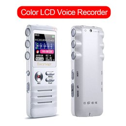 $enCountryForm.capitalKeyWord NZ - Color 360mah LCD Screen Voice Activated Digital Audio Recorder Sound Monitor Recording Portable MP3 Music Player Speaker Pen
