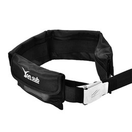 Diving Pouch UK - Weight Belt Pouch for Scuba Diving Spearfishing Spare Weight Belt with Quick Release stainless steel Buckle Diving Accessories