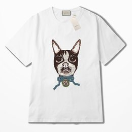 T-shirts 2019 Summer Style Fashion Heartbeat Dog Corgi Standard Unisex T-shirt Funny Tee Shirt High Standard In Quality And Hygiene