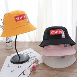 $enCountryForm.capitalKeyWord Australia - 2019 spring new men and women literary letters printed flower pot cap foldable outdoor visor fashion fisherman hat tide