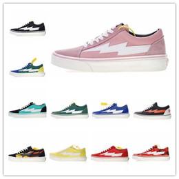 3a2bd5c560 Revenge x Storm Pop-up Store 3 Lightning Flame Casual Canvas Shoes Designer  Zapatillas Old Skool 3s Fashion Women Men Sneakers
