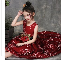 $enCountryForm.capitalKeyWord Australia - Girls 4 to 13 years tutu embroidered dresses, summer holiday party Asymmetrical dress, kids & teenager boutique clothing, 2AA806DS-45