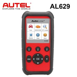 Professional Engine NZ - Autel AutoLink AL629 Engine Transmission ABS SRS OBDII Scanner Professional Auto Scan Tool Car Code Reader
