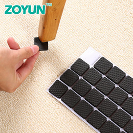 living room furniture sofa sets UK - Chair Foot Pad Table Foot Pad Table Corner Furniture Sofa Leg Mute Wear-resistant Anti-slip Stickers Protective Stool Foot Cover