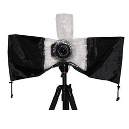 $enCountryForm.capitalKeyWord Australia - Lens Protector Universal Drawstring Arm Protectors Flashing Cover Dustproof For DSLR Camera Rain Cover Waterproof SLR