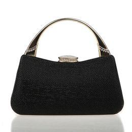 $enCountryForm.capitalKeyWord NZ - HOT 2016 Noble Black Chinese Women's Wedding Evening Bag Clutch handbag Mujeres Bolso Fashion Bride Party Purse Makeup Bag F918A #227103
