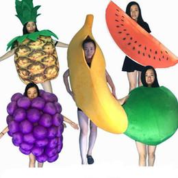 $enCountryForm.capitalKeyWord Australia - 2019 Factory direct sale Professional Mascot Costume Adult Size Banana grape watermelon pineapple apple fruit Mascot Costume