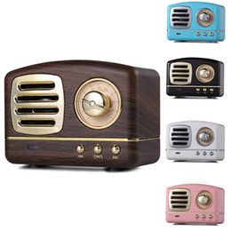 $enCountryForm.capitalKeyWord Australia - Classic Retro Radio Speakers Mini Portable Wireless Multimedia Bluetooth Speaker FM U disk TF Handsfree Outdoor Subwoofer MP3 Player HM11