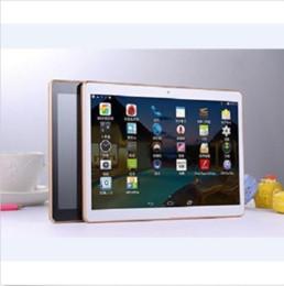 10.1 inç Tablet PC Octa Çekirdek IPS Bluetooth 4 GB / 64 GB Phablet SIM 3G Telefon Görüşmesi indirimde