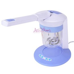 Home steamers online shopping - EU tax free Big promotion mini home use portable hair beauty equipment skin whitening In Hair Facial Home Use Facial Steamer