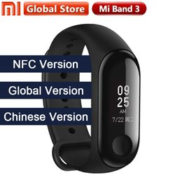 "$enCountryForm.capitalKeyWord UK - 2018 New Multi Language Original Xiaomi Mi Band 3 Fitness Tracker 0.78"" Oled Big Touch Screen 2018 New Smart Wristbands Bracelet J190515"