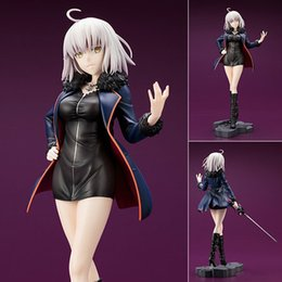 $enCountryForm.capitalKeyWord Australia - Fate Grand Order Black Stand Avenger Joan of Arc Jeanne d'Arc Alter PVC Figure Collectible Model Toy