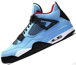 hot sale online 20b47 6c957 Tattoo 4 Singles Day 4s Basketball Shoes Man Pure Money Cement Raptors Bred  Fire Red mens trainers Sports Sneakers Baskets aIR Chausseures