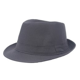 e28d1802fb4 Stage Hat Man UK - Jazz hat men s and women s pure color hat wholesale  middle-