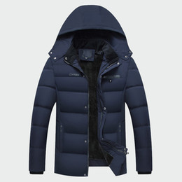 $enCountryForm.capitalKeyWord NZ - Winter Men's Thick Coats Warm Male Jackets Padded Casual Hooded Thermal Parka New Men Overcoats Mens Brand Clothing XL-4XL ML069