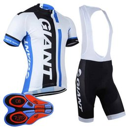 GIANT team cycling Short Sleeves jersey (bib) shorts sets good quality Hot  Sale Breathable Mens Cycling Clothing 011114F 915f93827