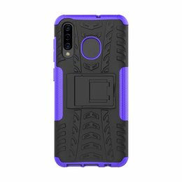StickerS dirt online shopping - For Samsung Galaxy A20 Case Sticker Stand Rugged Combo Hybrid Armor Bracket Impact Holster Cover For Samsung Galaxy A20