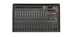 24bit Player Australia - 16Channels 3 Band EQ 2x1800W 24Bit DSP Effect Bluetooth Powered Mixer AK16