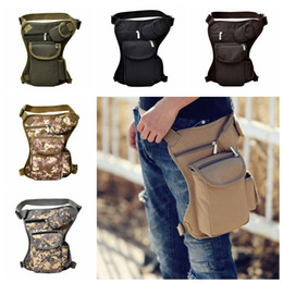 Table legs online shopping - Tactical Waist Bag Unisex Canvas Outdoor Camping Cycling Waistpack Sports Leg Bag Outdoor Bags Traveling Hip Bags Colors CCA11764