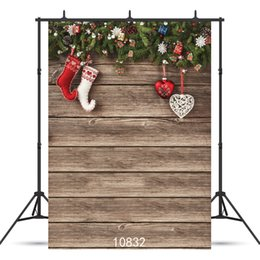 Photography Christmas Digital Backdrops Australia - Vinyl Custom Photography Backdrops Prop digital printed Vertical Christmas day theme Photo Studio Background JLT-10832
