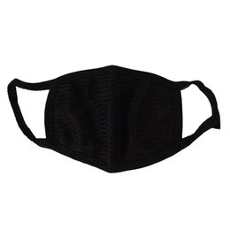 Protective Masks Australia - Hot Black Mouth Mask Cotton Anti Dust Protective Double Kpop Mask Washable Many Times Using Hot Sale Wholesale