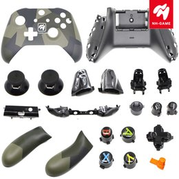 wireless controllers for xbox one NZ - Replacement For Xbox One Slim Controller For Gears of War 5 Full Housing Shell Kit Cover Case With LB RB Button