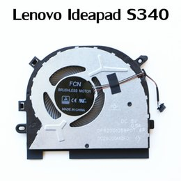 laptop cooling fan replacement UK - Laptop Replacement Cooler Fan For Lenovo Ideapad S340 Cpu Cooling Fan