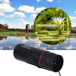 night vision monocular waterproof NZ - 30x25 HD Optical Monocular Low Night Vision Waterproof Mini Portable Focus Telescope Zoomable 10X Scope for Travel Hunting