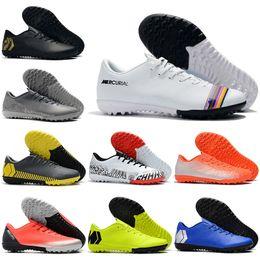 $enCountryForm.capitalKeyWord Australia - New Mens Low Ankle Football Boots VAPORX 12CLUB IC TF Soccer Shoes Neymar ACC CR7 Mercurial SuperflyX Indoor Turf Soccer Cleats