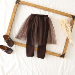 $enCountryForm.capitalKeyWord Australia - girls lace dress and leggings baby girl thickening tights Christmas pants Girl winter autumn warm leggings