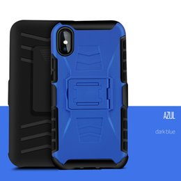 Wholesale 3 in Combo Defender Belt Clip Armor Case for Samsung Galaxy S7 Edge S4 S5 S6 Note Cover with Kickstand