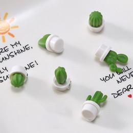 $enCountryForm.capitalKeyWord NZ - Message Decorative Cute Cactus Remind Durable Elegant Notes Wall Cartoon Fridge Magnet Succulent Plant Refrigerator Sticker Memo