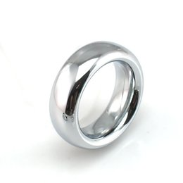 $enCountryForm.capitalKeyWord Australia - 18mm Width Stainless 9mm Thick Metal Scrotum Ring Cock Ring Delay Ejaculation Penis Ring Cockring Sex Products Sex Toys For Men Y19052703