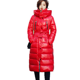 Womens Parkas Australia - High Quality Winter Down Jackets 2019 Fashion Thicken Warm Down Parkas Coat Womens Hooded Cotton Coats Female Winter Jackets 861