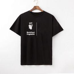 Famous Mens T Shirt Polos Men Women Letter Print Short Sleeve Fashion Mens Stylist Casual Round Neck Tees Size M-XXL on Sale