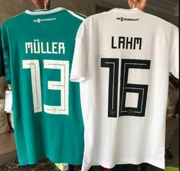 6f6856173 2018 Player Version Germany Kroos World Cup 2019 home boys Soccer jerseys  18 19 Germany away DRAXLER OZIL REUS GOTZE WERNER Football
