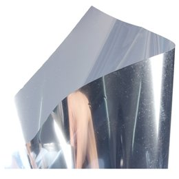 mirror sticker paper NZ - BMBY-2M Silver Solar Reflective Window Film Paper Insulation Stickers One Way Mirror Other Home Decor